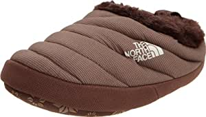 The North Face Chaussons femme Moonlight Ivoire/Khak - - (Demitasse Brown),