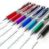 Pentel Energel Xm BL77-Retractable Liquid-Gel Ink Pen-0.7mm-52% recycelt-7Stück