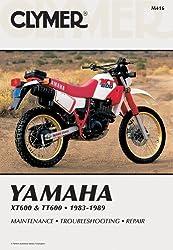 Clymer Yamaha XT 600 & TT600, 1983-89: Service Repair Maintenance