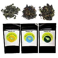 Teanzo 1856 Green Tea Loose Leaf Sampler, 3.75 Ounce