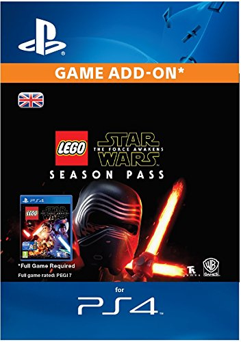 LEGO Star Wars: The Force Awakens Season Pass [PS4 PSN Code - UK Account] (Lego Star Wars Video Game Ps4)