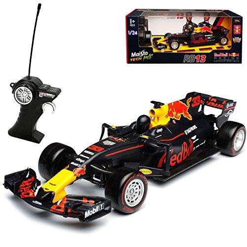 Maisto Red Bull RB13 Max Verstappen Nr 33 Formel 1 2017 27 MHz RC Funkauto 1/24 Modell Auto*