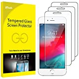 JETech Protector de Pantalla para iPhone 8 Plus, iPhone 7 Plus, iPhone 6s Plus y iPhone 6 Plus, Vidrio Templado, 3 Unidades