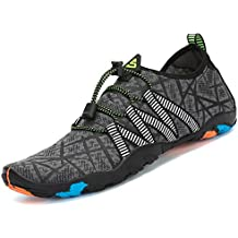 Saguaro Skin Shoes Descalzo acuático Aqua Calcetines para de Nadada de la  Playa de la Resaca 0003e9adde9