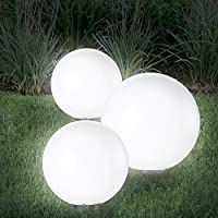 77650b3e947fbd Probache - Lampe Boule 15 cm LED Solaire X2