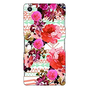 Jugaaduu Floral Pattern Back Cover Case For Sony Xperia Z3