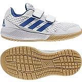 adidas Unisex-Kinder Altarun CF K Fitnessschuhe, Weiß (Ftwbla/Azul/Grimed 000), 31 EU