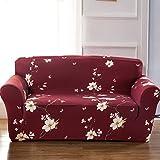 FORCHEER Sofabezug elastische Sofahusse Sesselbezug Stretchhusse Sofaüberwurf Couch Husse mit 4 verschienden Größe ( 2-Sitzer, 145-185cm, Farbe #28 )