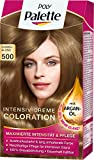 Poly Palette Intensiv Creme Coloration, 500 dunkelblond, 3er Pack (3 x 1 Stück)