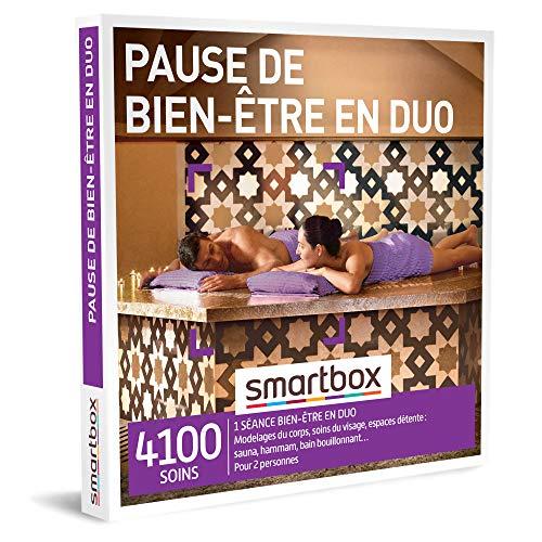 SMARTBOX - Coffret Cadeau femme homme couple - Pause de bien-être en duo - idée...