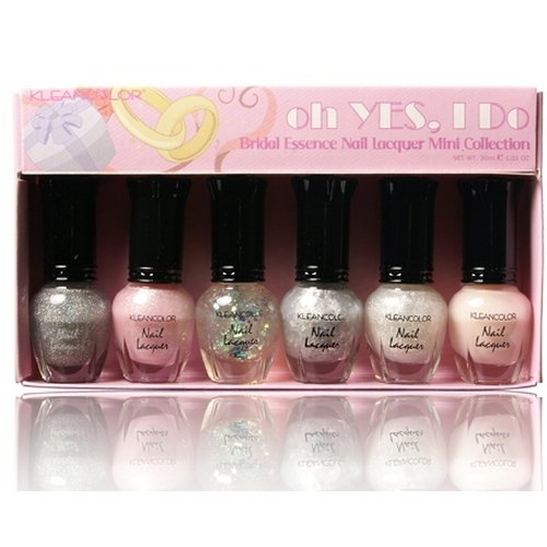 KLEANCOLOR Nail Lacquer Mini Collection - oh YES, I Do Bridal Essence - KCNPC600