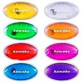 Taschenwärmer 8er Set Multicolor - Oval - Handwärmer Heizpad Wärmepad Firebag