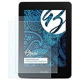 Bruni Schutzfolie für Amazn Kindl 7 (Model 2014) Folie - 2 x glasklare Displayschutzfolie