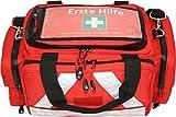 Erste Hilfe Tasche - Notfalltasche PKW, Freizeit und Veranstaltung aus Nylon mit Waterstop Reißverschluss und Hals-Wirbelsäulen-Stützkragen Stifneck
