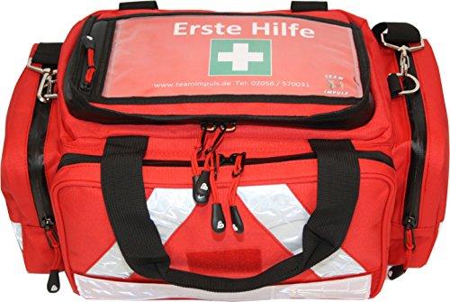 Erste Hilfe Tasche - Notfalltasche PKW, Freizeit und Veranstaltung aus Nylon mit Waterstop Reißverschluss (Nylon-reißverschluss-tasche)