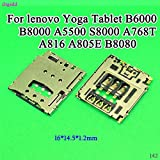 Ochos Lot de 2 supports de carte SIM pour tablette Lenovo Yoga B6000 B8000 A5500...
