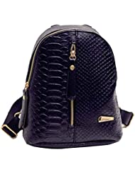 Clode® Mochilas de cuero de la PU de la mujer bolso mochilas viaje