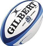 Gilbert Unisexe Écosse Match Ballon de Rugby XV, Multicolore, Taille 5