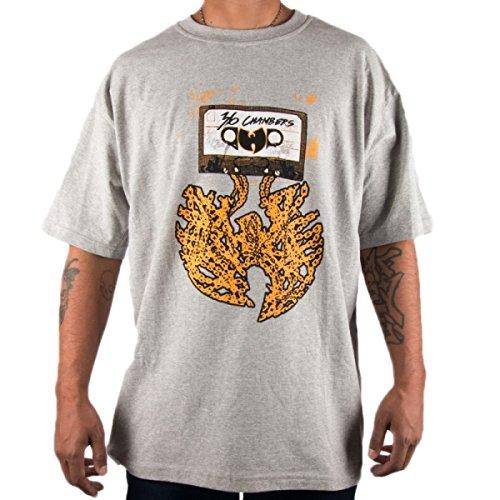 Wu Wear - Wu Tang Clan - Wu Cassette T-Shirt - Wu-Tang Clan Size S, Color Grey