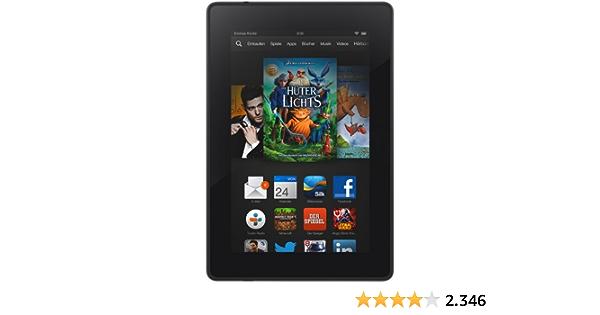 Kindle Fire HD 7, 17 cm (7 Zoll), HD-Display, WLAN, 8 GB - Mit Spezialangeboten (Vorgängermodell - 3. Generation)