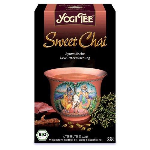 YOGI Tee Sweet Chai Filterbtl., 15X2.2 g