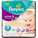 Pampers Active Fit Taille 3 Midi 4-9kg (29) - Paquet de 2