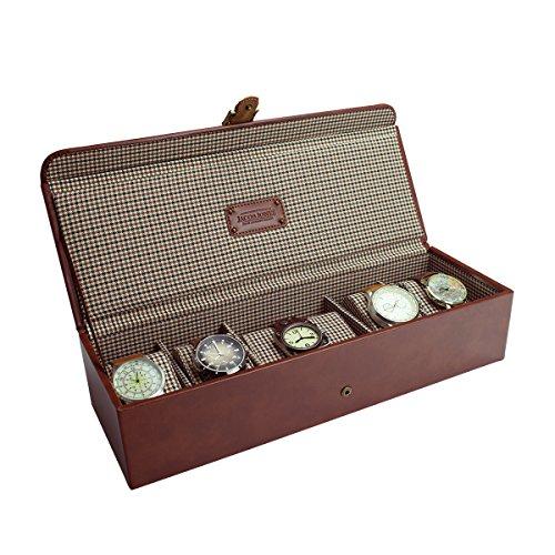 jacob-jones-tan-watch-box-with-brown-checker-cotton-lining