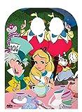 Disney Alice nel Paese delle Meraviglie Tea Party Bambino a Doppio Taglio out, Cartone, 131x 95x 131cm