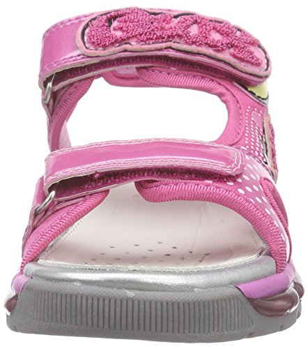 Geox J Android, Sandales Fille Rose (C8002)