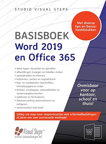 Basisboek Word 2019 en Office 365