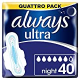 Always Ultra Night Hygiene-Binden mit Flügeln 4 (4 x 10)