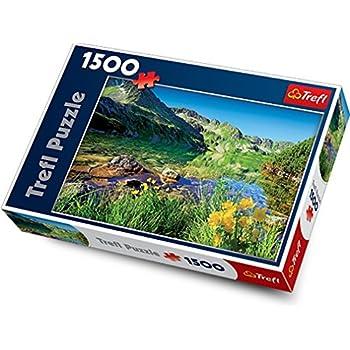 """Trefl 26089 """"Wielki Staw Lake/The Tatras"""" Puzzle (1500-Piece)"""