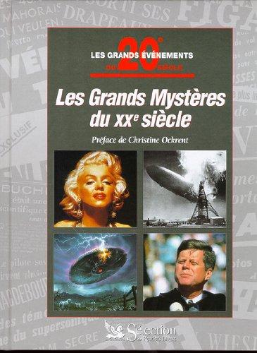 Grands mystères du XXe siècle