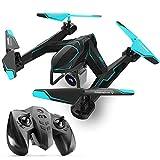 QKa Auto Follow Drone con 2MP Gran Angular 3D VR Cámara de Video en Vivo Posición de Flujo óptico Plegable Mini niños Helicóptero WiFi Gesto Disparo Selfie Quadcopter
