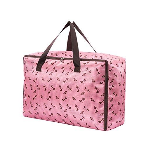 Super Modern , Set di valigie nero Black medium Pink