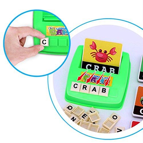 Ularma-Ingls-Ortografa-Alfabeto-Juego-De-Cartas-Aprendizaje-Temprano-Juguete-Educativo-Para-Nios