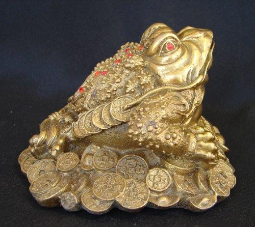 Feng Shui laiton à Monnaie Grenouille