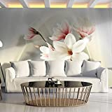 Fototapete Blumen 400x280 cm XXL   VLIES TAPETE - Moderne Wanddeko - Fototapete 3D Illusion - Riesen...