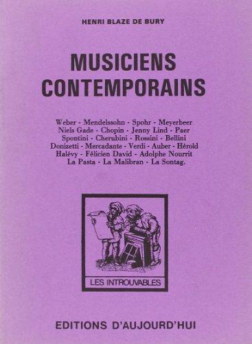 Musiciens contemporains