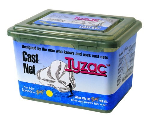 Betts Tyzac Cast Net 8ft Mono 3/8 Mesh Box by Betts