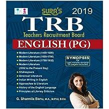 TRB PG English Exam Books
