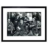 PHOTO 1934 PHYSICS GENIUS ALBERT EINSTEIN NEW FRAMED PRINT F97X5454