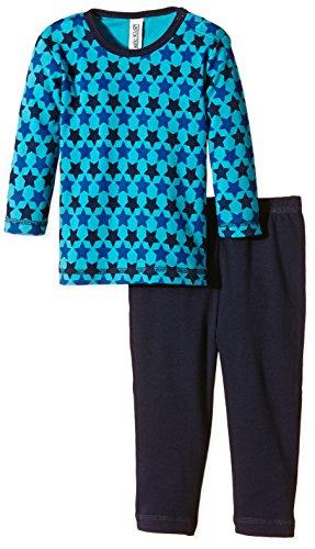 Magic Kids Jungen Zweiteiliger Schlafanzug Gr. 122, Blau (Dark Navy 778)