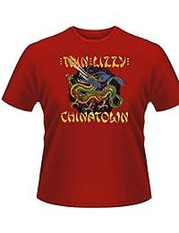 Playlogic International - Camiseta de Thin Lizzy unisex
