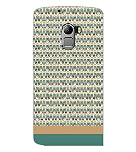 PrintDhaba Owl pattern D-1861 Back Case Cover for LENOVO K4 NOTE A7010 (Multi-Coloured)