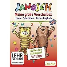 JANOSCH - Meine große Vorschulbox: Lesen, Schreiben, Erstes Englisch