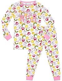 Emoji - Pijama para niñas Ajuste Ceñido