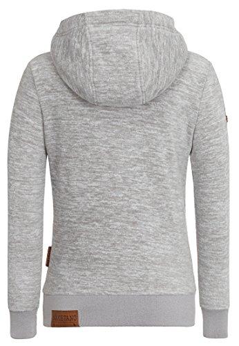 Naketano - Sweat-shirt - Uni - Femme Grey Melange