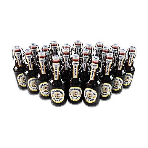 flensburger bier Flensburger Pilsener (20 Flaschen à 0,33 l / 4,8 % vol.)