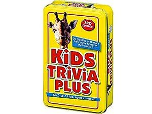 Paul Lamond Games Kids Trivia Plus - Juego de Preguntas Infantiles (en inglés)